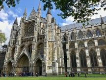 Westminster Abbey, olihan se hieno, kuten muutkin nähtävyydet.